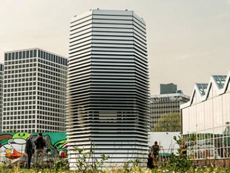 В Китае построили самый большой очиститель воздуха