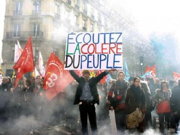 Во Франции проходит масштабная забастовка учителей и железнодорожников