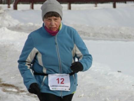 69-летняя украинка взяла «серебро» на ультрамарафоне в Беларуси