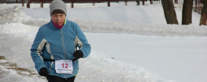 69-летняя украинка заняла второе место на ультрамарафоне в Беларуси