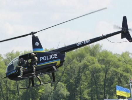 Нацполиция набирает вертолетчиков