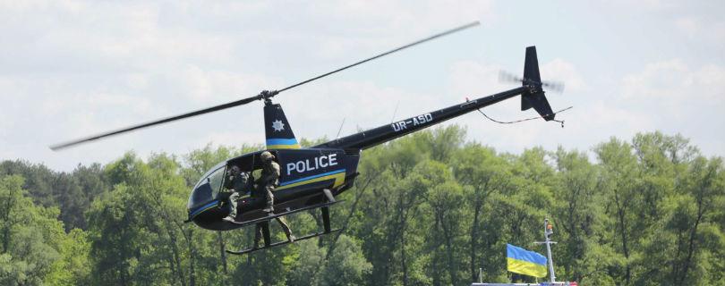 Украинская полиция набирает вертолетчиков