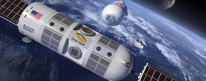 На орбите появится отель для космических туристов