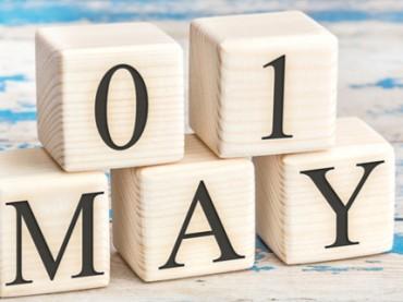 На «майские» украинцев ждут длинные выходные