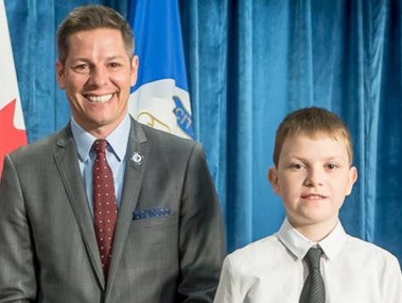 12-летний украинец станет детским мэром канадского города