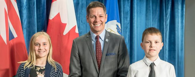 12-летний украинец стал детским мэром канадского города