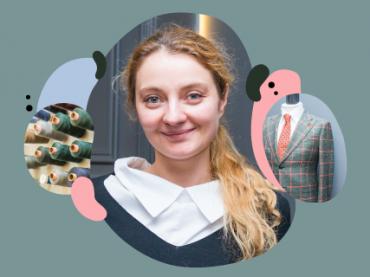 О селф-мейд клиентах, вечных костюмах и старте в период кризиса: интервью с основательницей мастерской Indposhiv Катериной Возиановой