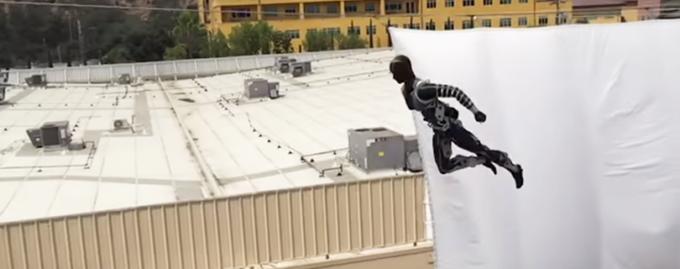 Disney создала робота, который лишит работы каскадеров
