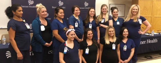 В одном отделении больницы одновременно забеременели 16 медсестер