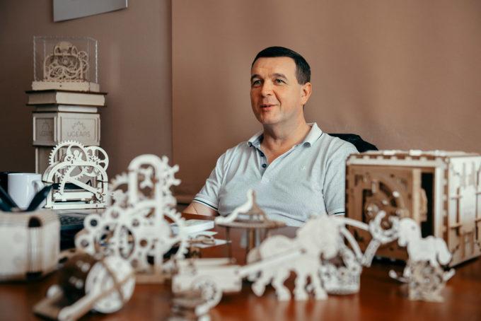 О командной работе, конкурентах и контракте с Walt Disney: интервью с генеральным менеджером UGEARS Геннадием Шестаком