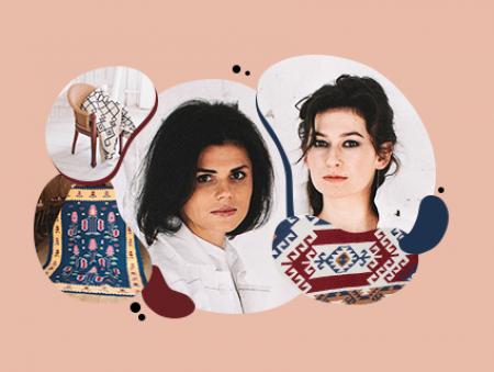 Про рідкісну професію ткача, традиції в сучасній обгортці та час на прибутковість: інтерв'ю із засновницями бренду килимів Zv'yazani
