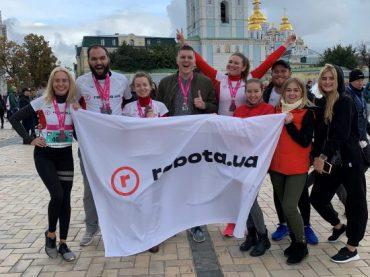 Команда robota.ua взяла участь у Wizz Air Kyiv City Marathon: як це було?