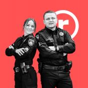 Інтерв'ю з патрульними Віктором Кучеренком та Лілією Чаплигою: про особисту витримку копа, залаштунки чергувань та безпеку міста