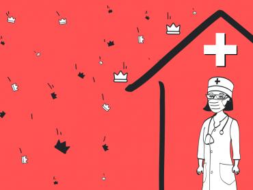 Вакансії медзакладів, що борються з коронавірусом, є безкоштовними на robota.ua