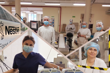 Смак турботи: як команда Nestle в Україні працює під час карантину