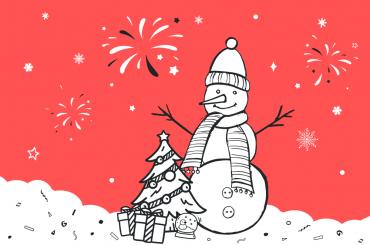 Команда robota.ua вітає з новорічними святами!